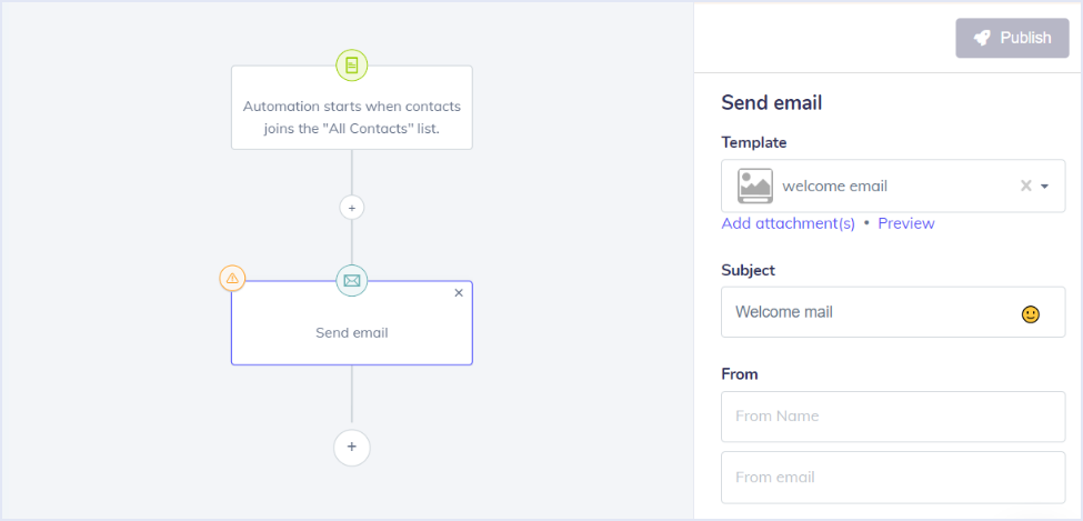 setting up automated email
