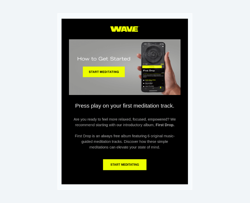wave free trial email