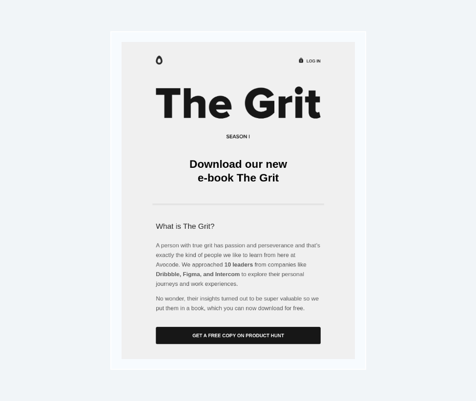 the grit workflow